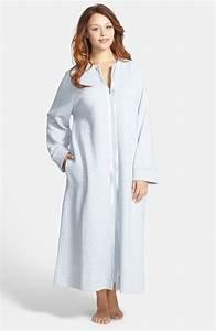 carole hochman designs classic zip robe in gray grey With robe carole