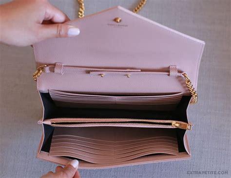 bag review ysl saint laurent wallet  chain cassandre