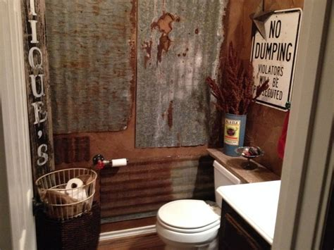 rustic  bath  bathroom decor  bathroom