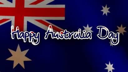 Australia Happy Flag Waving Animated Wishes Whatsapp