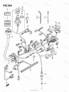 Suzuki Atv 2007 Oem Parts Diagram For Wiring Harness  Model K6  K7 F No 5saap41a 67110001