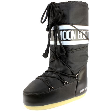 Polyester Snow Boots womens moon boot original nylon snow boots