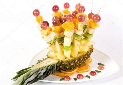 canapes fruit fruit canape on toothpick stock photo forewer 16228615