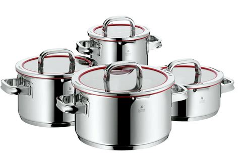 wmf function cookware germany pots pans piece cooking kitchen functions topf teilig collections