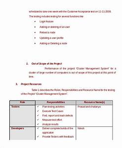 test plan template 11 free word pdf documents download With performance testing test plan template