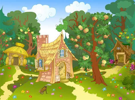fabulous house stock vector illustration  castle