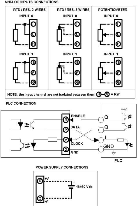rtd to digital plc input module resistance input dat6012