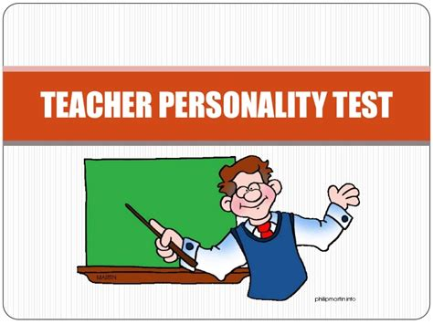 Teacher Personality Test
