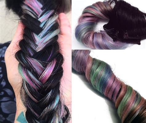 Pastel 1b Dip Dye Ombre Clip In Human Hair Extensions
