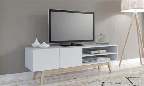 meuble tv scandinave groupon shopping
