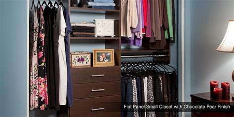 custom small closets systems reach in bedroom closet