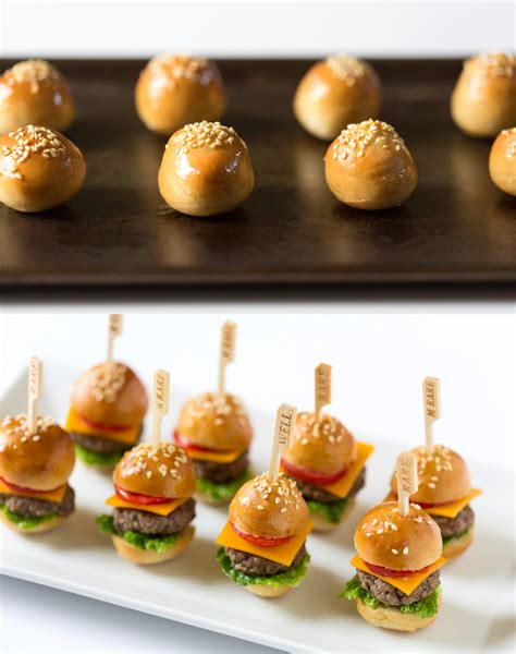 cuisine miniature appetizer how to mini cheeseburgers