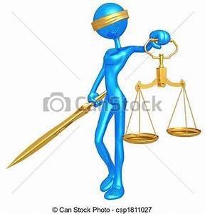 Stock Illustrations of Lady Justice - 3D Concept And ...