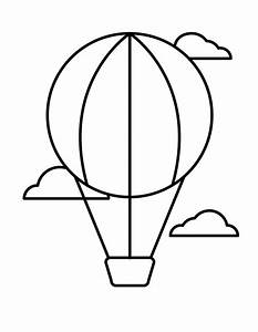 Free Printable Hot Air Balloon Coloring Pages For Kids