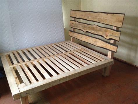 woodwork king bed frame plans  plans