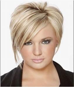 Coupe De Cheveux Femme Visage Rond Cheveux Epais : modele coupe courte pour femme visage rond coiffures ~ Nature-et-papiers.com Idées de Décoration