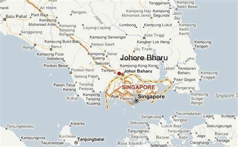 johor bahru map