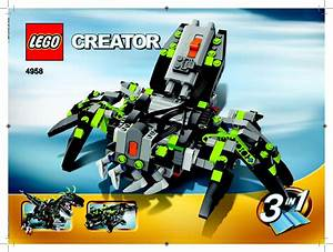 Lego 4958 Monster Dino Building Instruction