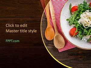 Template Power Point Free Salad Powerpoint Template Free Powerpoint Templates