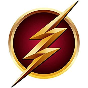 amazon com the flash logo decal wall sticker home decor flash gordon c492 large home