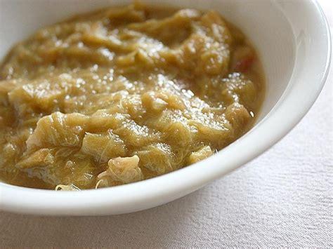 cuisine rhubarbe compote de rhubarbe blogs de cuisine