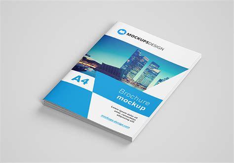 Brochure Mockup Free A4 Brochure Mockup Mockups Design Free Premium