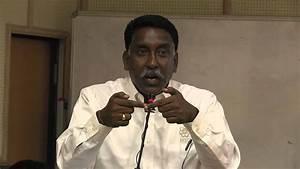 """Shri R.N. Joe D'cruz: """"Issues faced by Tamizh (Tamil ..."""