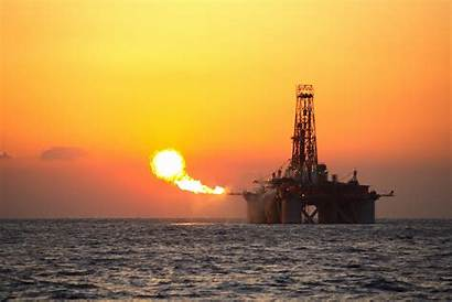 Oil Gas Crude Rig Offshore Gains Early
