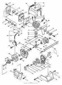 Toro 53002  Gas Trimmer  Straight Shaft  53005   1998  Sn 890001