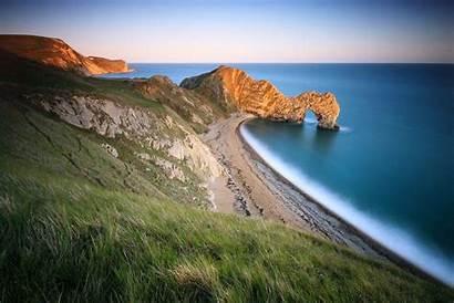 Coast Beach Grass Wallpapers Arch Sea Ocean