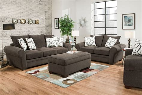 Sectional Sofas With Ottoman by Othello Chenille Sofa At Gardner White