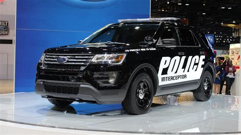 Ford Utility by Ford S Explorer Interceptor Utility Gets Stealthy