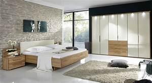 Komplett schlafzimmer mit eiche und glas morley magnolie for Design schlafzimmer komplett
