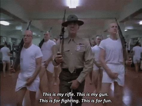 Full Metal Jacket Quotes Rifle