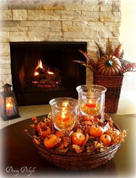 Nicely finished edges on the table top. 10 Easy Thanksgiving Decor Ideas