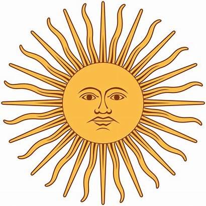 Argentina Bandera Sol Mayo Sun Flag Archivo