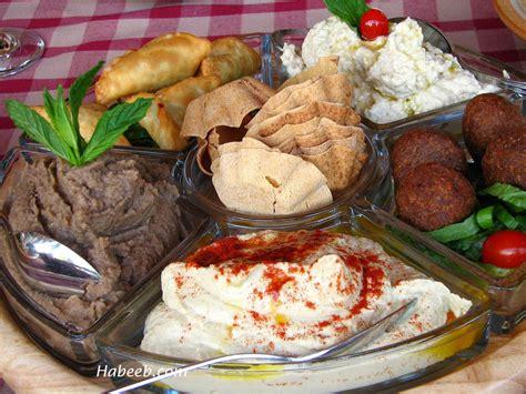 cuisine libanaise mezze lebanese food
