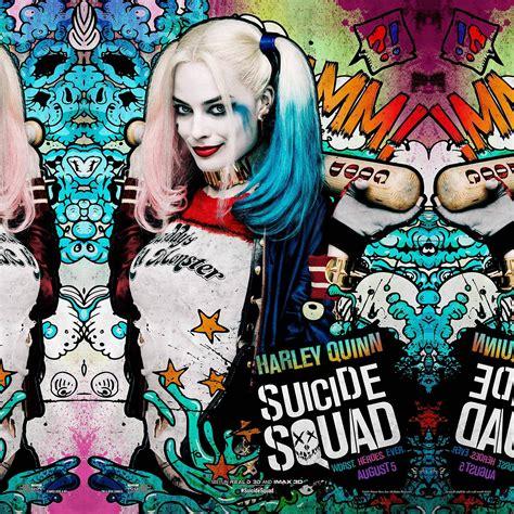suicide squad film poster art illustration joker