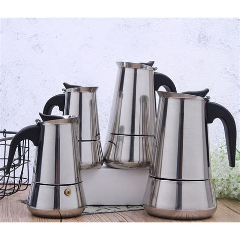 Moka pots are stovetop espresso makers that offer a traditional italian brewing method, used to produce coffee similar in flavor and strength to espresso. Moka Induction Italian Stovetop Espresso Coffee Maker Coffee Pot 4 Sizes   eBay
