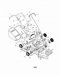 Parts Diagram For Troy Bilt Lawn Mower