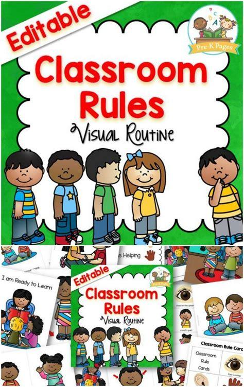 classroom rules preschool rules classroom rules poster