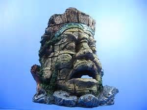 ancient myth jungle statue ruins cave 20 5cm aquarium