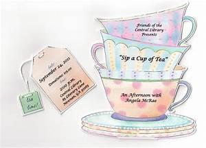 ladies tea party agenda myideasbedroomcom With morning tea invitation template free