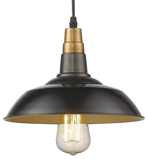 metal shade hanging 1 light kitchen pendant antique black