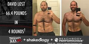 INSANITY MAX:30 Results: David Lost 66.4 Pounds in 4 Rounds