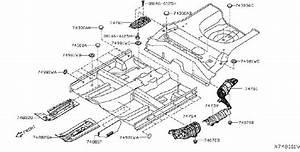 Nissan Versa Note Heat Insulator Floor  Insulation Heat