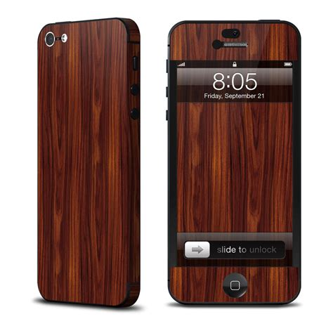 iphone skin rosewood iphone 5 skin covers apple iphone 5 for