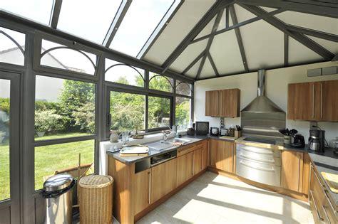 cuisine veranda photos déco cuisine veranda