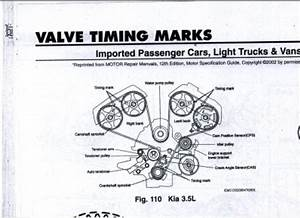 Necesito Un Diagrama De Tiempo Para Una Kia Sorento 2003 V6