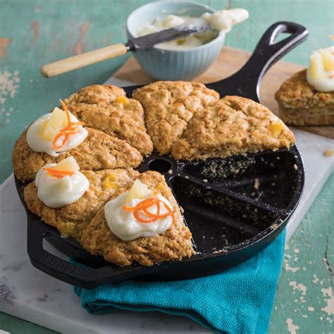 cast iron cooking recipes for cing carrot cake wedges southern cast iron